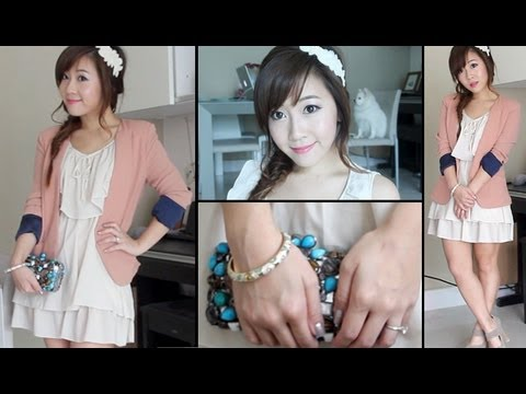 Get Ready With Me: Wedding Guest ❤ Makeup, Hair & Outfit