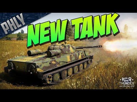 War Thunder 1.53 - PT-76 Russian Amphibious Tank!  (DevBlog)
