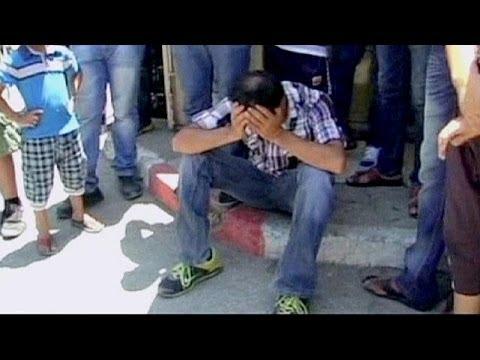 PalestiniansattendthefuneralofateenagerkilledbytheIsraeliarmy - no comment