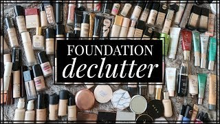I decluttered my foundations by more than 50% ... what made the cut??