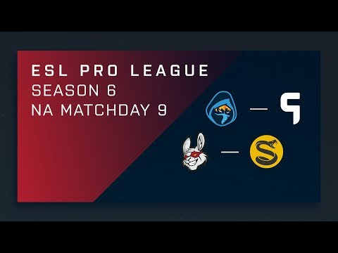 CS:GO: Rogue vs. Ghost | Misfits vs. Splyce - Day 9 - ESL Pro League Season 6 - NA