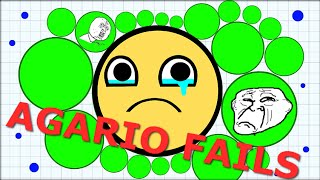 Agario Fails - Moments We HATE in Agar.io