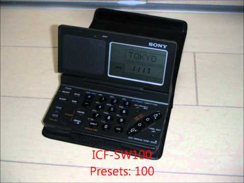 ICF-SW100 WORLD BAND RECEIVER