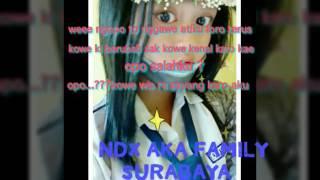 download lagu Ndx Aka Family Raisa - Wes Wani Perih gratis