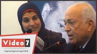 نبيل العربى: أسامة الباز كان يعمل صبى جزار بأمريكا