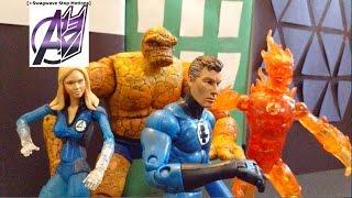 Fantastic Four Stop Motion- Fantastic Four vs Dr. Doom