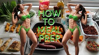 HOW TO MEAL PREP   Quick & Easy Recipes