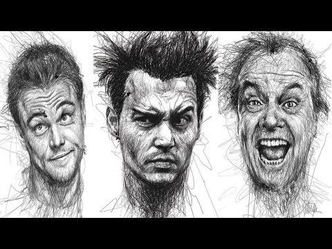 Видео как нарисовать лежащего человека