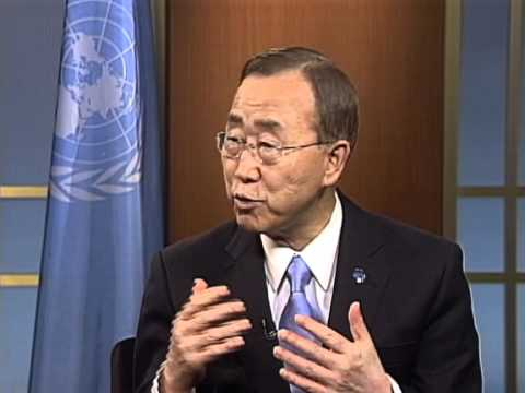 UN Secretary-General on the Role of Youth in Ending Violence against Women