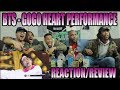 FIRSTFIRST BTS 고민보다 - GOGO LIVE HEART PERFORMANCE REACTION/REVIEW