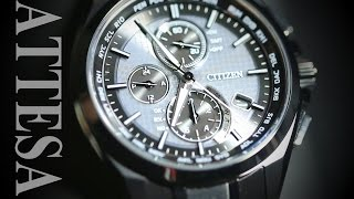 CITIZEN WATCH ATTESA AT8044-56E 開封 時計の話その3