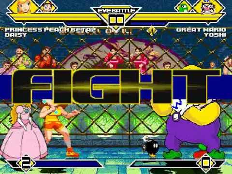 Daisy Yoshi Daisy vs Wario Yoshi