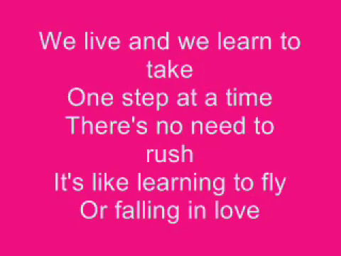 Jordin Sparks - One Step at a Time Lyrics Music Videos
