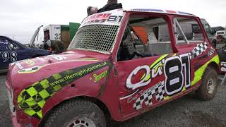 Scunny Speedway Autograss meeting 2017 clip