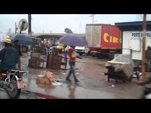 Streets of Douala Cameroon