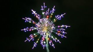 2012 New Fireworks Contest in Nagano Japan
