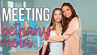 DAY IN MY LIFE// MEETING BETHANY MOTA!!