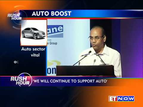 Heavy Industries Minister Anant Geete: 'Continue To Support Auto Industry'