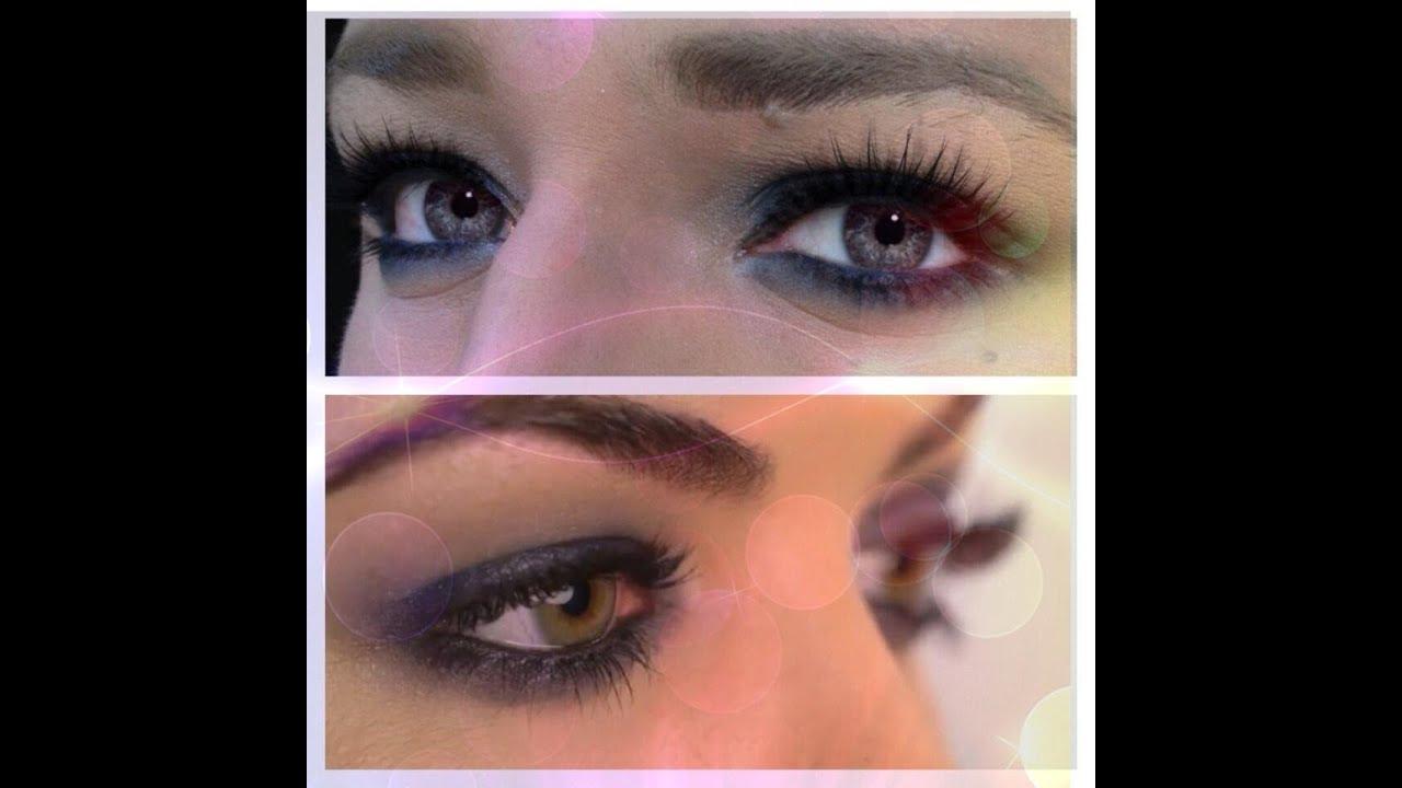Obtén - Pretty Little Liars - Lucy Hale - es púrpura Smokey Ojo