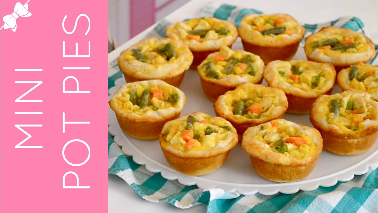 Mini Chicken Pot Pies in a Cupcake Pan {traditional & reduced fat ...