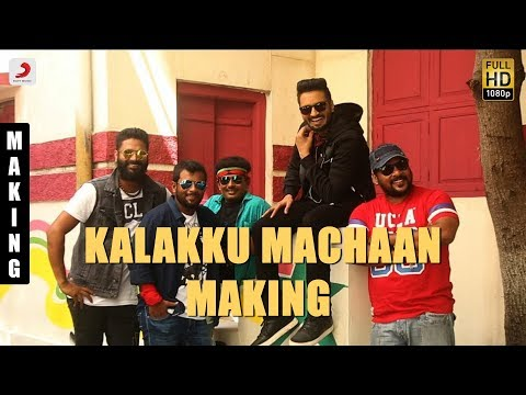 Sakka Podu Podu Raja - Kalakku Machaan Making Video | Santhanam | STR | Anirudh