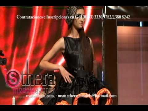 Sthera Models Agency con Loccoco en EBIO 2011 pasarela peinado maquillaje fantasia