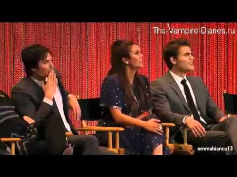 Paleyfest 2014 - Vampire Diaries Panel - Paul the Director (русские субтитры)