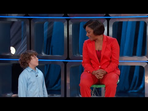 Evan Takes Over for Tiffany - Kids Say The Darndest Things