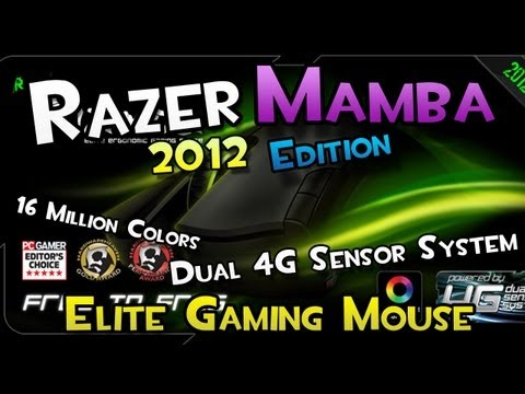 Shibby's Reviews: Razer Mamba 2012 Edition (Elite Ergonomic Gaming Mouse) & Raffle!