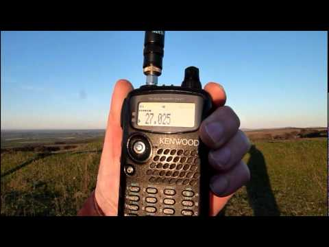 CB Radio Skip:USA Heard Near Rankinston(1200ft asl), Ayrshire, Scotland. (7nov2011) Kenwood THF7E