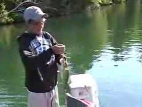 Crow Lake Ontario bass fishing