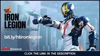 Avengers Age Of Ultron Hot Toys Iron Legion Movie Masterpiece 1/6 Scale Collectible Figure Review