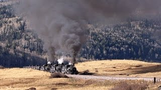 Tripleheader to Cumbres Pass - 2014 Chama Steam - DVD / Blu-ray Preview