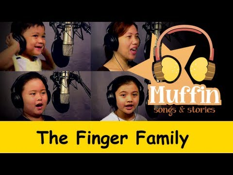 Muffin Songs - The Finger Family (Daddy Finger) | nursery rhymes & children songs with lyrics