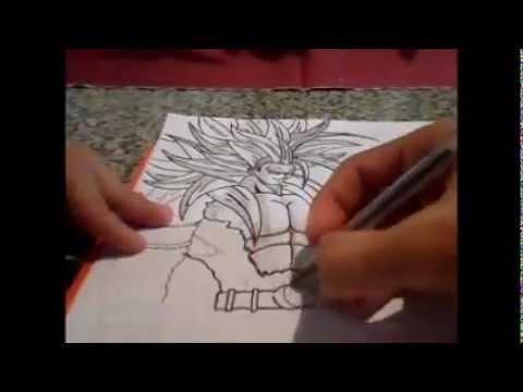 Goku Ssj5 Desenho #modo Especial# video
