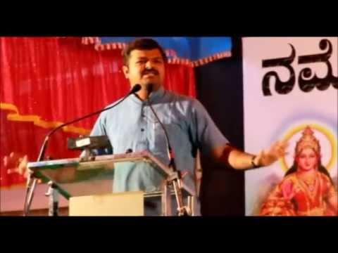 Chakravarthy Sulibele speech in Athani NaMo Brigade Athani