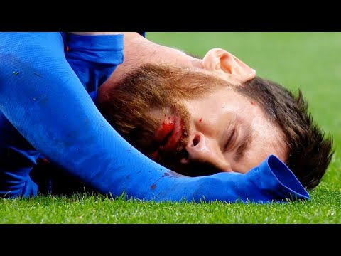 The Most Brutal Tackles and Fouls on L.Messi, C.Ronaldo, Neymar Jr ● HD