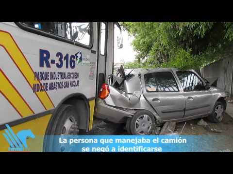 Ruta 316 choca contra ocho autos en San Nicolás