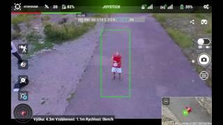 Huawei MediaPad 2 8.0 test Litchi funkcí Panorama a stopování