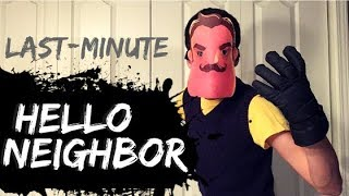 DIY Hello Neighbor Costume | Last-Minute Halloween Ideas