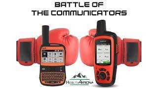 Spot X vs Garmin InReach 2 way Satellite Communicators   Health4ADV