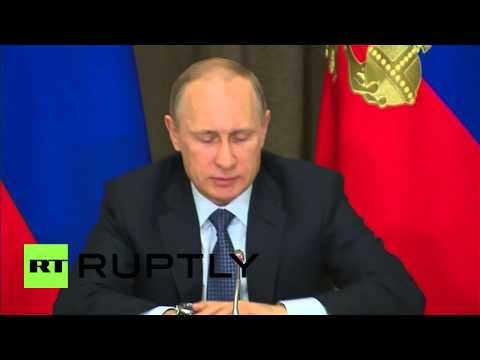 "Russia: Nations involved in sanctions are ""cutting their own throats"" - Putin"