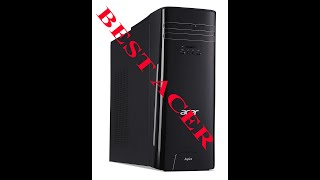 Review Acer Intel Core i5 Quad Core 3GHz 16GB Ram 256GB SSD Windows10 HomeTC 780 UR17 Unboxing Setup