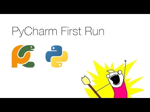 PyCharm First Run