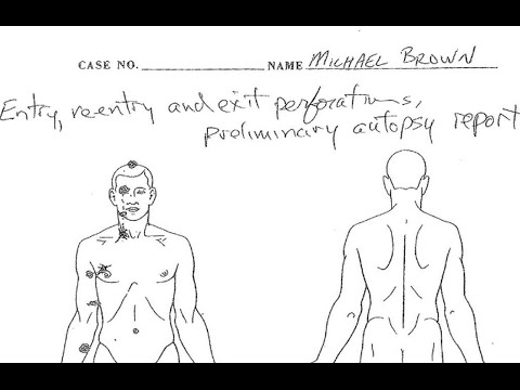 New Michael Brown Autopsy Show He Was Shot At Close Range