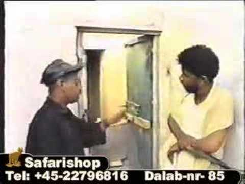 Ajakis Funniest Somali actor performing as Odey