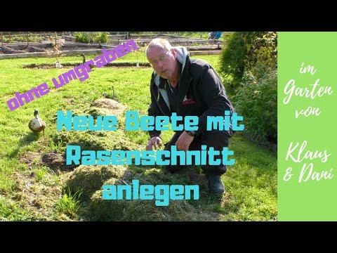 Neue Beete Im Garten / Ohne Umgraben, Nur Mit Rasenschnitt