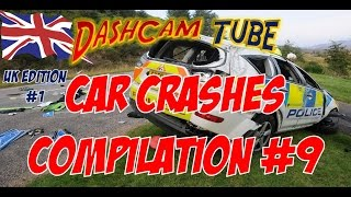 DashCam Tube Car Crashes Compilation #9 Special UK Edition