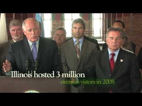 Governor Quinn Joins Mayor Daley to promote Illinois tourism - Quinn For Illinois