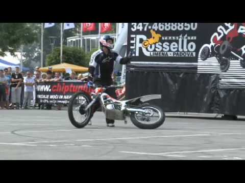 Street Bike Stunt Demo in Eastern Europe